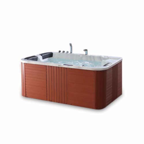 RAVONI Description: Massage Bathtub Size: 1900 x 1350 x 840mm Water capacity: 530L Seating capacity: 3 persons Code: M1913