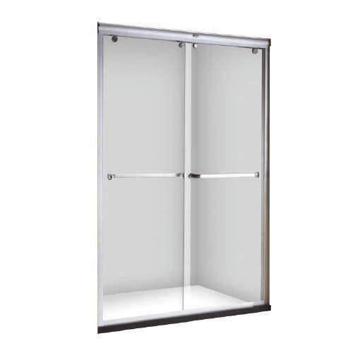 RAVONI Description: Sliding Shower Door Size: 1200 x 1900mm Tempered glass: 8mm Dual slide shower enclosure Code: SNDDM0507