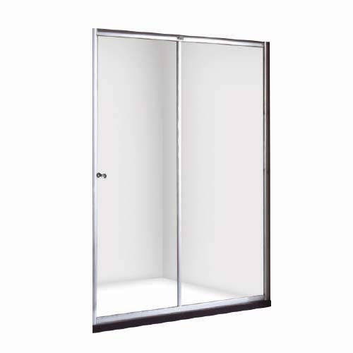 RAVONI Description: Sliding Shower Door Size: 1200 x 1900mm Tempered glass: 6mm Code: LA24-006