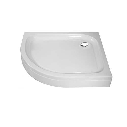 RAVONI Shower Tray • Quarter round Size: 950 x 950 x 150 mm Code: L0490