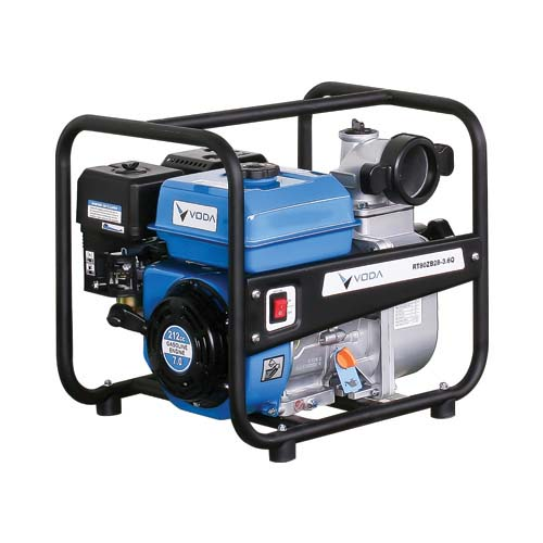 VODA  Water Pump • 7 Hp • 212cc displacement  • 3600/min rotary speed  • Unleaded fuel type • 3.6L fuel tank capacity • 0.5L oil capacity • Accessories included: - Joint - Connector - Strainer - Spark plug sockets Code: RT80ZB28-3.6Q