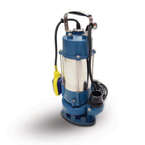 AQUASTRONG Description: Pump (Submersible) For drainage and construction use Recommended for cistern tank use Max liquid temperature: +40°c Max immersion depth: 5m Liquid pH Value: 4-10 Hp: 1 Code: ESP18-12/0.75I