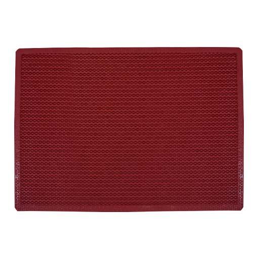 Grass Mat • PVC • Red Size: 50 x 70 cm Code: PGM9100