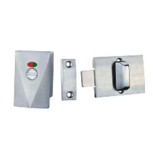 HAUSMANN Description: Door Lock Size: 68 x 8 x 45mm Material: Stainless Steel 304 Color: Brushed finish