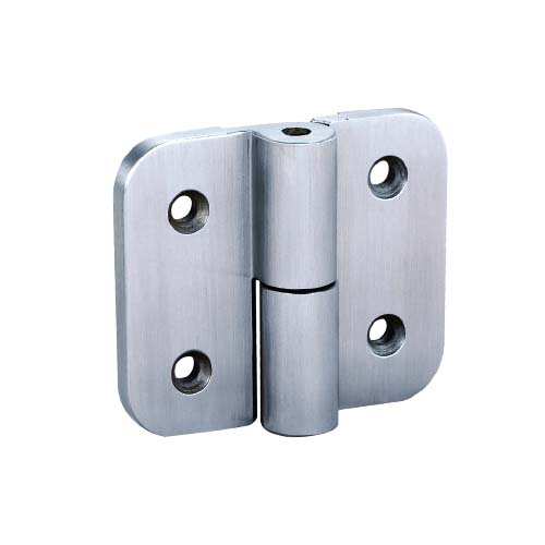 HAUSMANN Description: Auto Return Hinge Size: 75 x 5 x 65mm Material: Stainless Steel 304 Color: Brushed finish