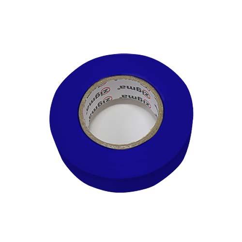 ZIGMA PVC Electrical Tape  • 0.17 mm x 19 mm x 16 m • Blue Code: IE7#