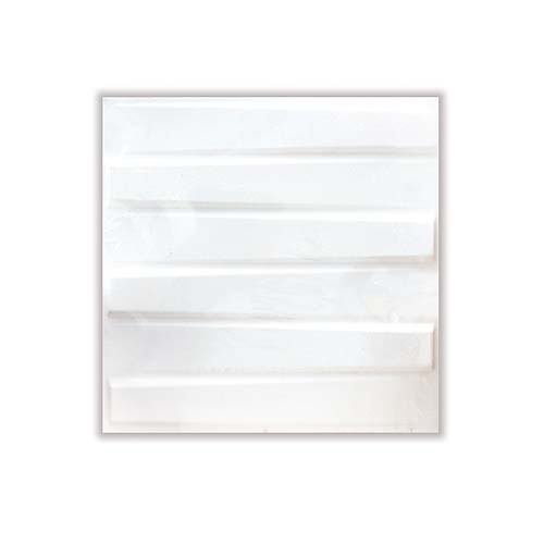 Wall Panel • 3D decorative • Made of plant fiber Size: 50 x 50 cm Code: Bladet