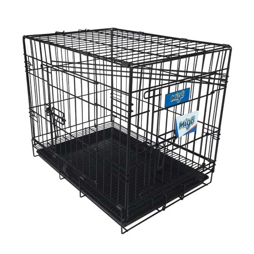 MIGO Description: 2 Door Dog Cage Size: 61 x 44.5 x 51.5cm Code: GY0702102