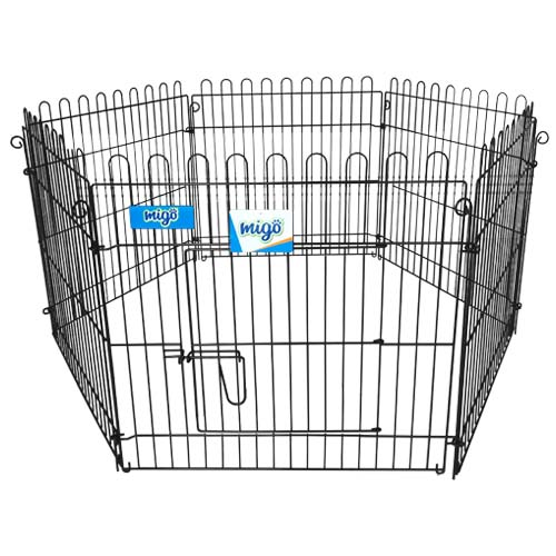 MIGO Description: 6 Panel Exercise Pen Size: 60 x 60cm Code: GY-R6060