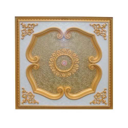 ART DECO Decorative Ceiling Board Size: 1200 x 1200 mm Thickness: 90 mm Code: JB120120-017(G)