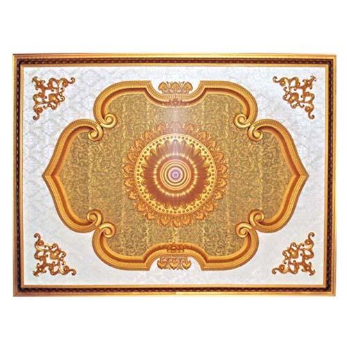 ART DECO Decorative Ceiling Board Size: 1600 x 1200 mm Thickness: 90 mm Code: JS/JB120160-052(G)
