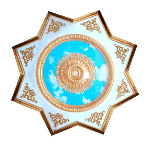 ART DECO Decorative Ceiling Board Size: 1900 mm Thickness: 75 mm Code: CY18-022 / BRJD18-S022