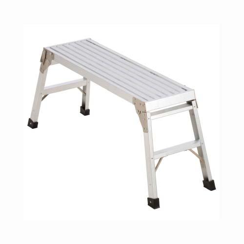 WERNER Work Platform Ladder •Aluminum • 15-5/8 in. depth • 102 kg. load capacity Code: AP-20