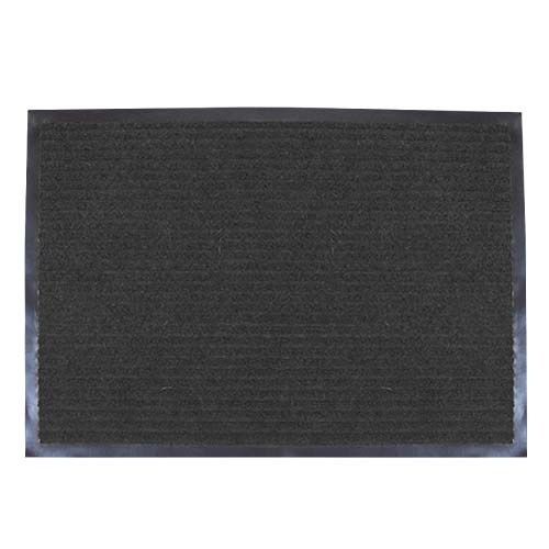 HAPPY HOME Carpet Mat • Double Ribbed • Grey Size: 50 x 70 cm Code: CM1000