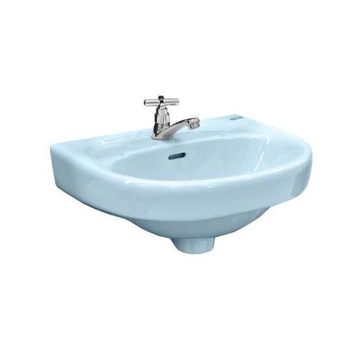 PHILIPPINE STANDARD Description: Coron Lavatory Color: Pastel Blue Code: 2163