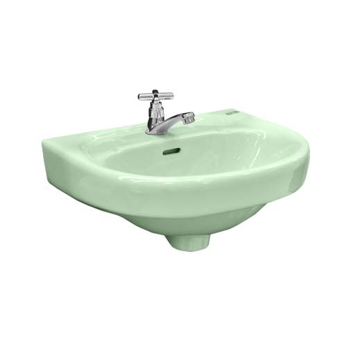 PHILIPPINE STANDARD Description: Coron Lavatory  Color: Pastel Green Code: 2163