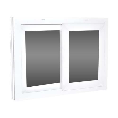 BUENAVISTA UPVC Sliding Window • 50% max Opening • Fixed opening action • Sidewaysopening direction Available sizes:  - 60 x 60cm - 60 x 80cm - 90 x 80cm - 120 x 80cm - 120 x 120cm - 120 x 140cm - 120 x 160cm