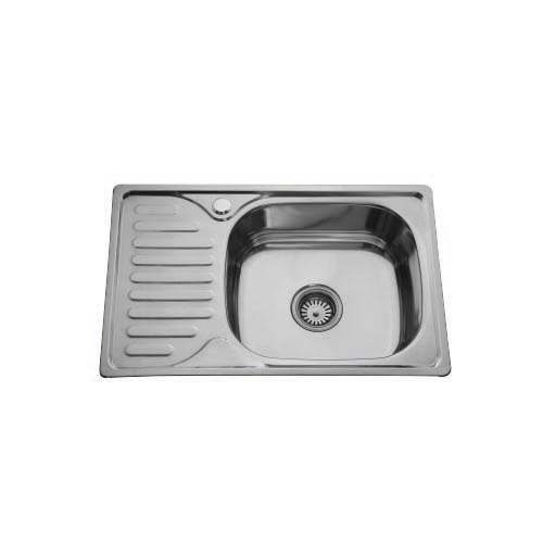 BREMEN Sink  • With strainer • Stainless steel 202 • 660 x 120mm • 0.6mm thickness • 180mm depth Code: ST6642L
