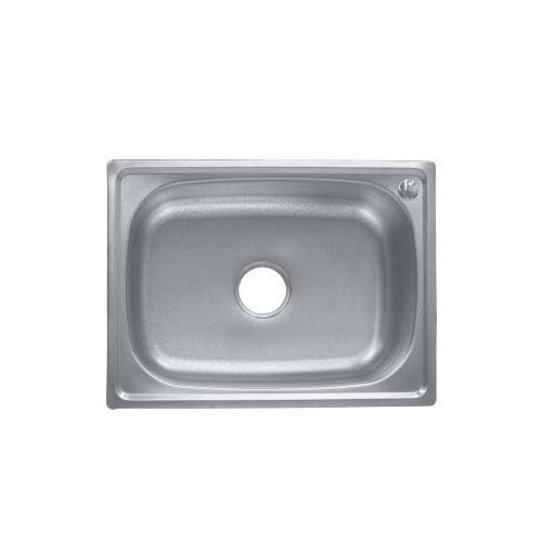 BREMEN Sink • With strainer • Stainless steel 202 • 600 x 450mm • 0.7mm thickness • 195mm depth Code: ST6045