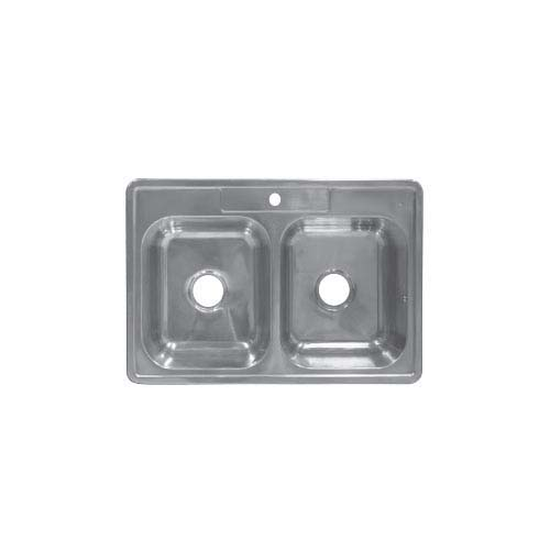 BREMEN Sink  • With strainer • Stainless steel 201 • 840 x 560mm • 0.7mm thickness • 200mm depth Code: JD8456