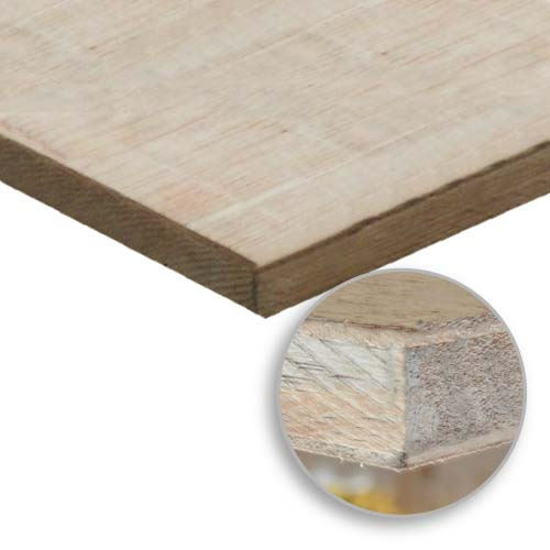 WOODTEK Description: Square Core Plyboard Sizes: 18 x 1220 x 2440mm 17.8 x 1220 x 2440mm