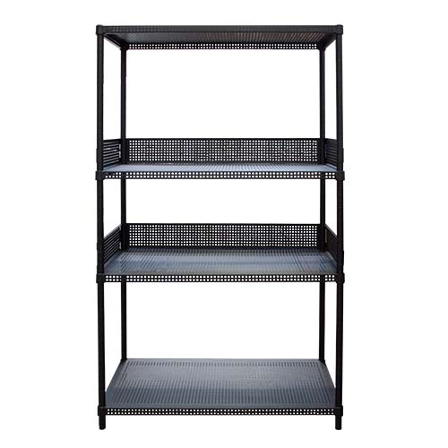 STACK Description: Shelf with Fence Color: Black Code: CY9146160P4