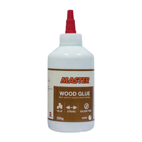 MASTER Description: Wood Glue Best used for wood-to-wood Content: 250g
