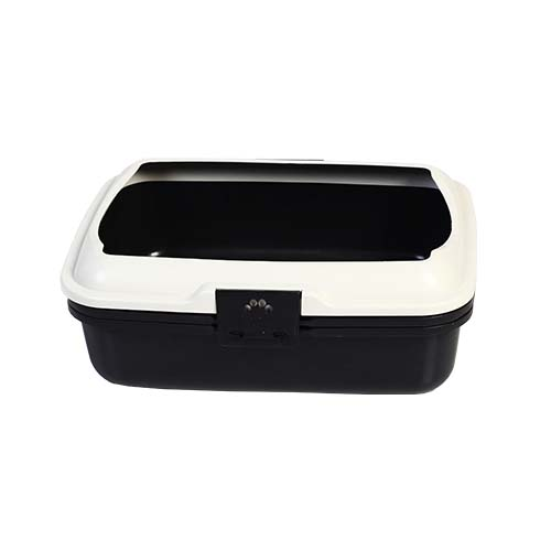 MIGO Description: Cat Litter Tray with Basket Size: 50 x 40 x 18.5cm Code: CAT-L06