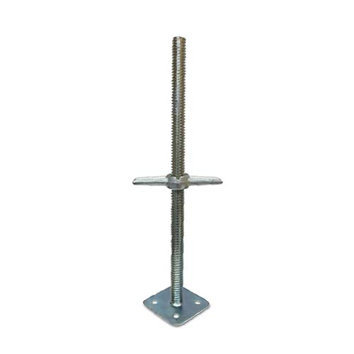 Description: Solid Base Jack Base size: 34 x 600mm Plate size: 140 x 140 x 4mm