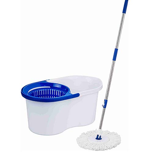 HAPPY HOME Tornado Mop Set • With stainless handle & mop refill • Without pedal Code: 50006514