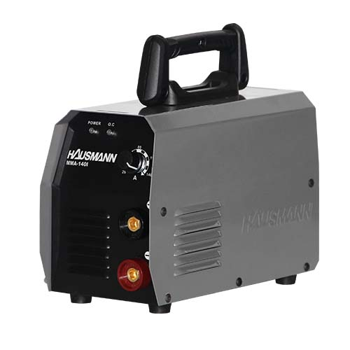 HAUSMANN Welding Machine • Inverter •140 Amp • 10-14A max welding current • 35% rated duty cycle Code: MMA-1401