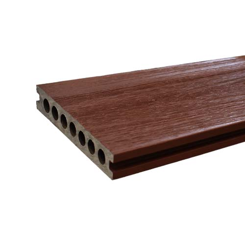 WOODTEK Decking  • WPC (Wood Plastic Composite) • Extruded board  • Rosewood Size: 22 x 138 x 2200 mm Code: YT-022