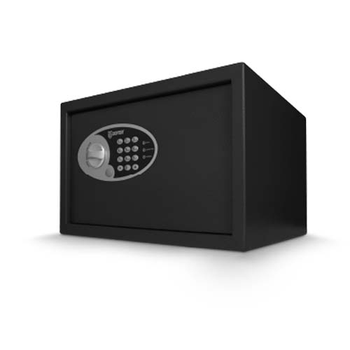 SOTER Electronic Safety Vault • 250 x 350 x 250mm • 16.5L capacity Code: 25EZ