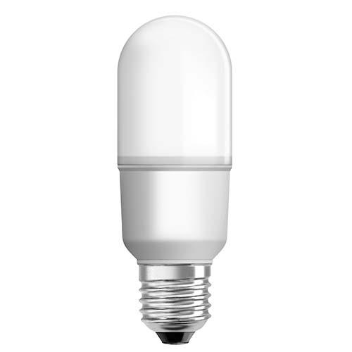 OSRAM LED Stick Bulb • E27 • Daylight (6500K) Code: LVSTICK Available in:  - 7W - 12W