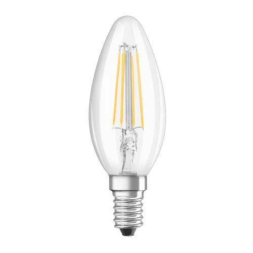 OSRAM LED Filament Bulb • 4W • E27 • Warm white (2700K) Code: LS CLB40