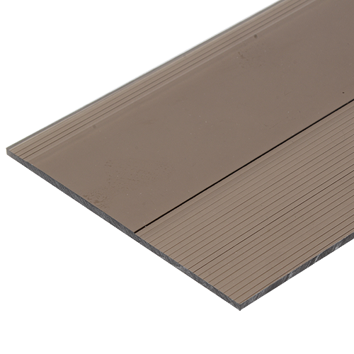 RAVAK Solid Sheet • 3D • Polycarbonate Size: 3 x 1220 x 2440 mm Available in:  - Bronze - Blue - Green