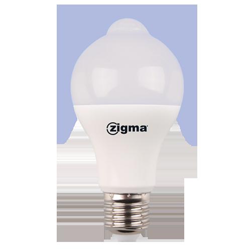 ZIGMA Sensor Bulb • 7W • 470lm • Daylight (6500K) Code: TP-A60-SR-7