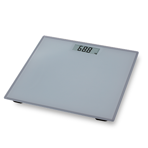 HAPPY HOME Digital Scale • 150kg capacity • 2 pcs. 3v lithium cell battery Code: EB9460
