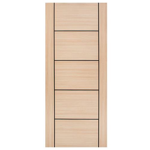 DESIGNCRAFT Flush Door • Melamine film finish with HDF wood strip core • 35 mm thickness • Texas Sizes:  - 80 x 210 cm - 90 x 210 cm