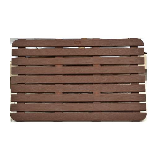 TATAY Shower Platform • Dark brown Size: 80 x 50 cm Code: 5530100