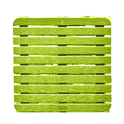 TATAY Shower Platform • Pistachio green Size: 55 x 55 cm Code: 5530002