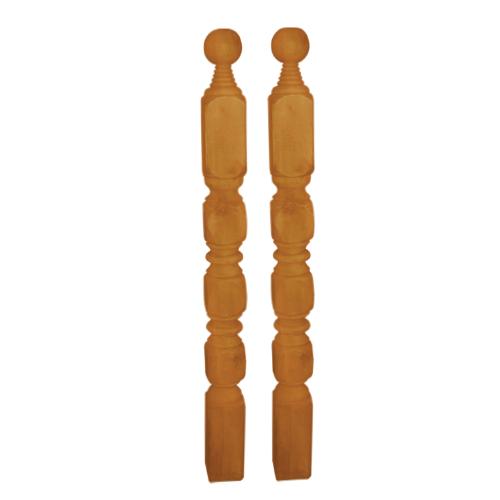 DESIGNCRAFT Description: Baluster Sizes: 2 x 2 x 1, 2 x 2 x 2 2 x 2 x 3, 3 x 3 x 3, 4 x 4 x 4 Available in: #1, #4, #5