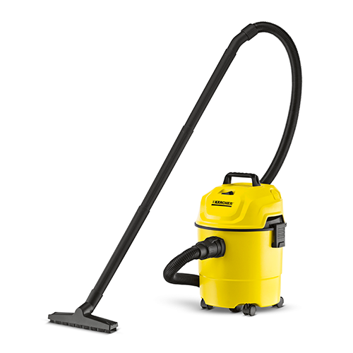 KÄRCHER Vacuum Cleaner •1000W • 160AW actual suction power •15 L container capacity Size: 331 x 352 x 461 mm Code: WD1