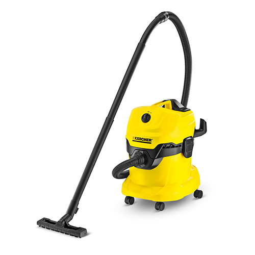 KÄRCHER Vacuum Cleaner •1000W • 200AW actual suction power • 20 L container capacity Size: 384 x 365 x 526 mm Code: WD4