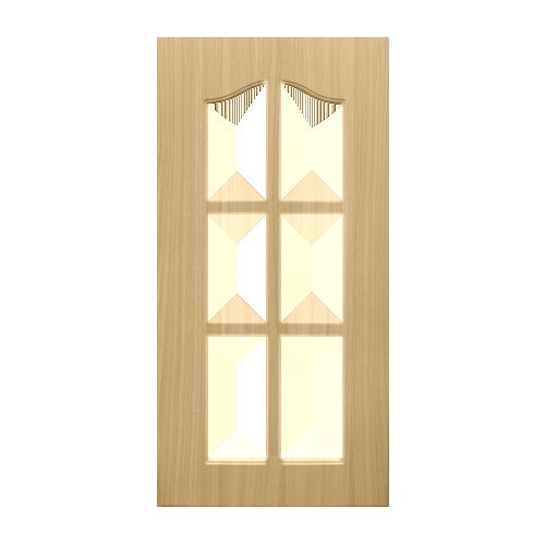 WOODTEK Cabinet Door • Yellow oak Sizes:  - 12 x 24 in. - 12 x 30 in. - 14 x 24 in. - 14 x 30 in. - 16 x 24 in. - 16 x 30 in. Code: CDG#1