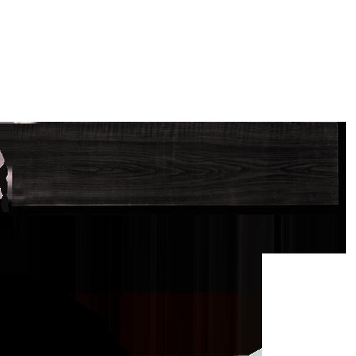 """STACK Shelf Board • Black walnut Code: KW07-1 Available in: - 8 x 24"""" - 8 x 36"""" - 8 x 48"""" - 10 x 24"""" - 10 x 36"""" - 10 x 48"""""""
