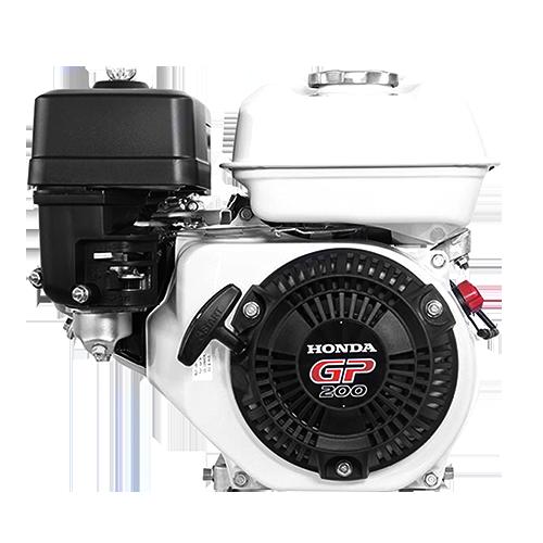 HONDA Description: Engine Displacement: 196cc Gross power: 6.5Hp Max engine speed: 3600rpm PTO speed: 1800rpm Fuel tank capacity: 3.1L Application: Concrete vibrator Code: GP200H QH1