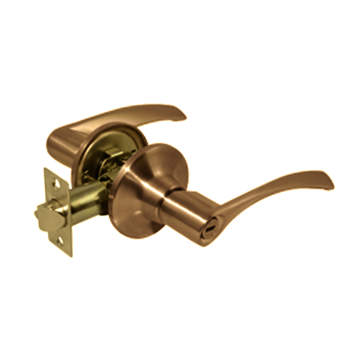 CTX Leverset • Right • 3 keys included • Antique brass finish • 35-44 mm fits door thickness Code: 6091AB