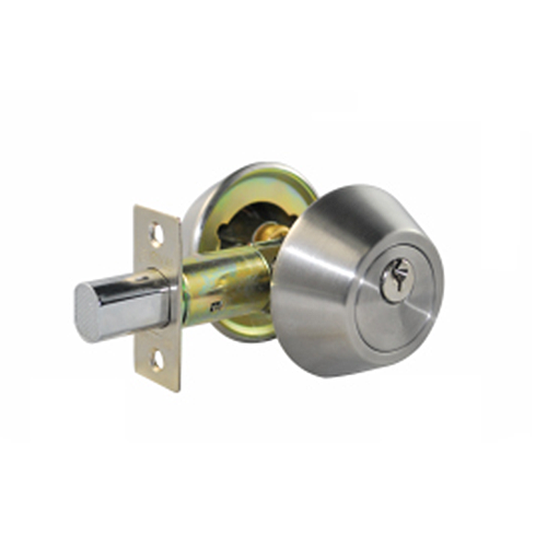 CTX Deadbolt • 3 keys included • Suitable for timber & metal frame doors • Stainless steel finish • 35-50 mm fits door thickness Code: 7312SS