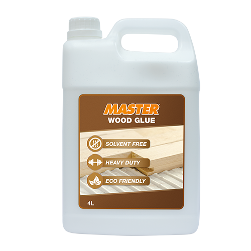 MASTER Wood Glue • Best used for wood-to-wood Content: 4 L
